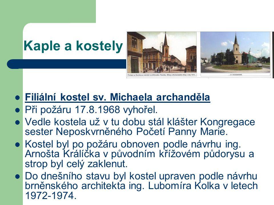 Kaple a kostely Filiální kostel sv. Michaela archanděla na Šířavě