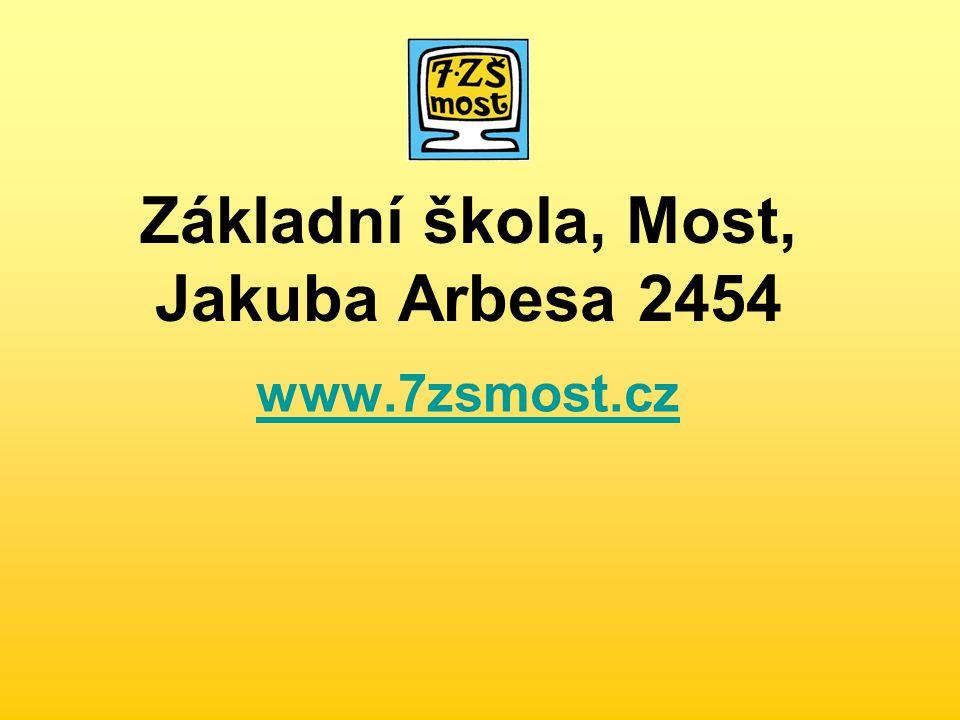 Základní škola, Most, Jakuba Arbesa 2454