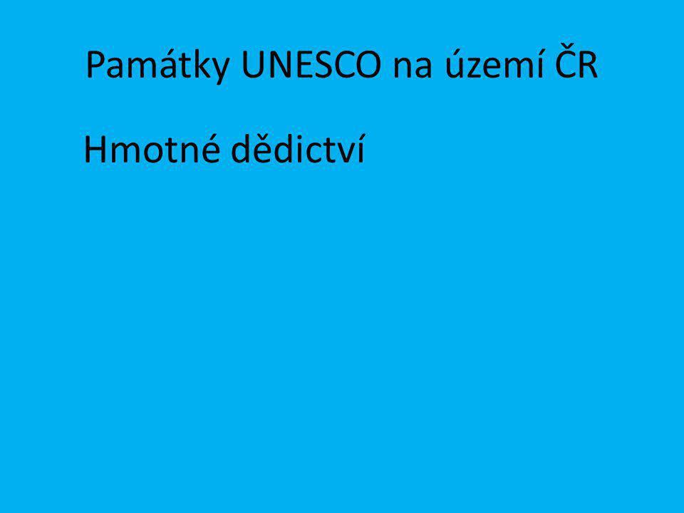 Památky UNESCO na území ČR