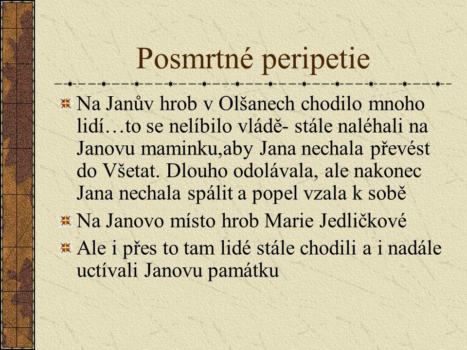 Posmrtné peripetie