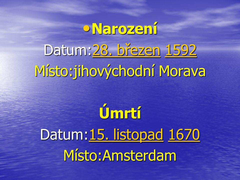 Místo:jihovýchodní Morava