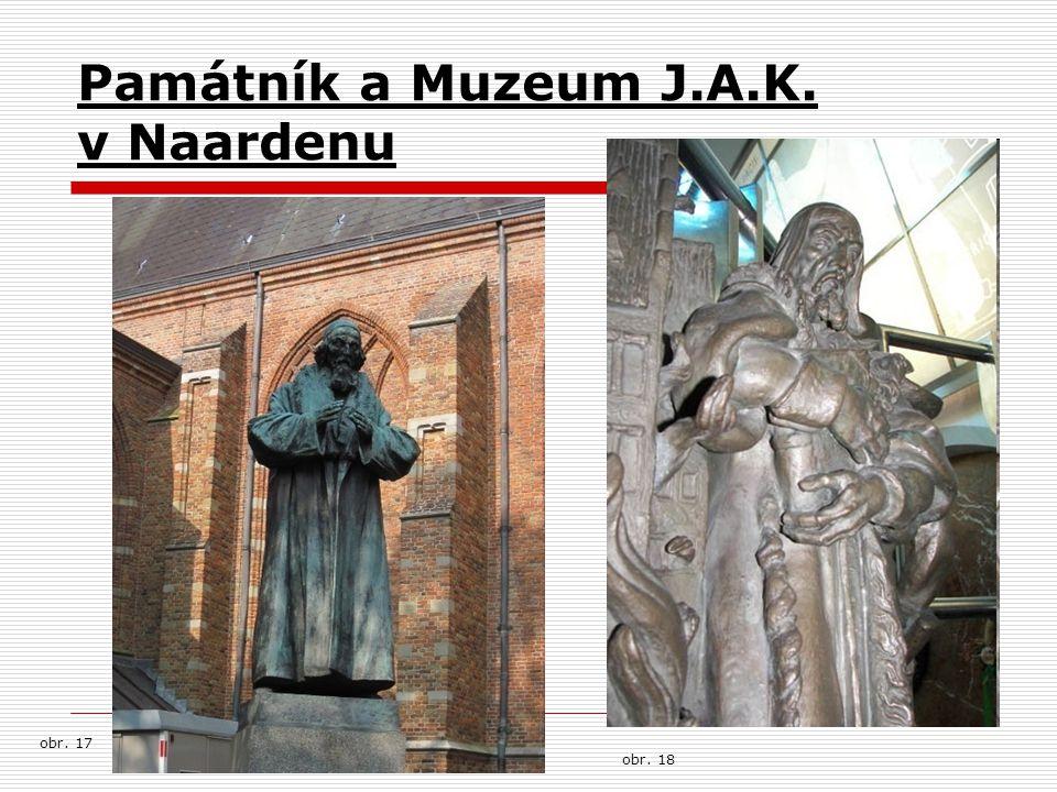 Památník a Muzeum J.A.K. v Naardenu