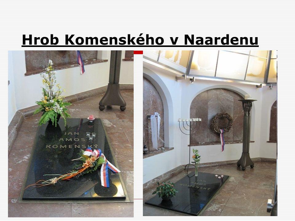 Hrob Komenského v Naardenu