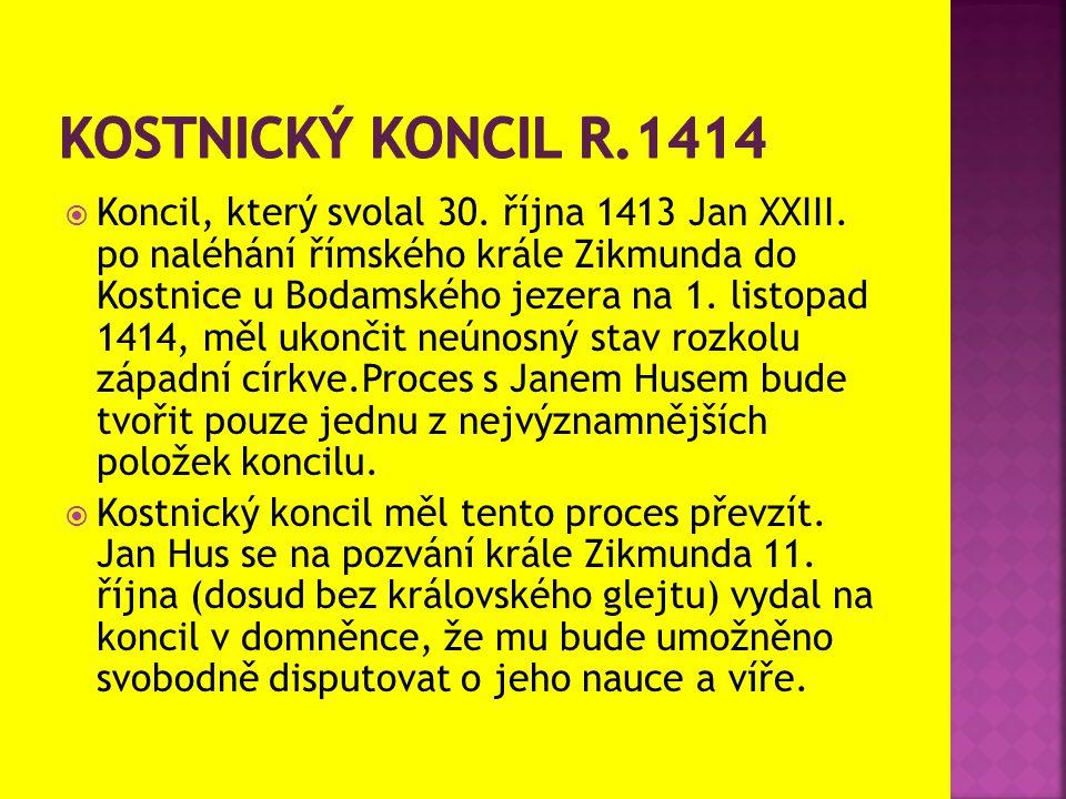 Kostnický koncil r.1414