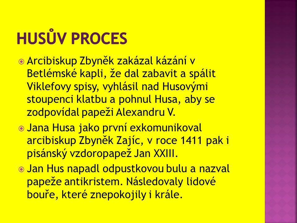 Husův proces