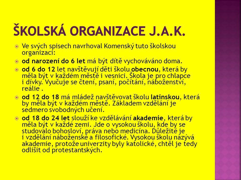Školská organizace j.a.k.