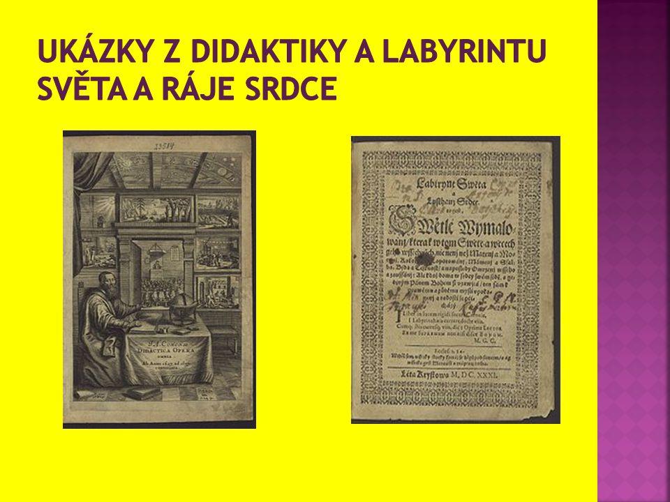 Ukázky z didaktiky a labyrintu světa a ráje srdce