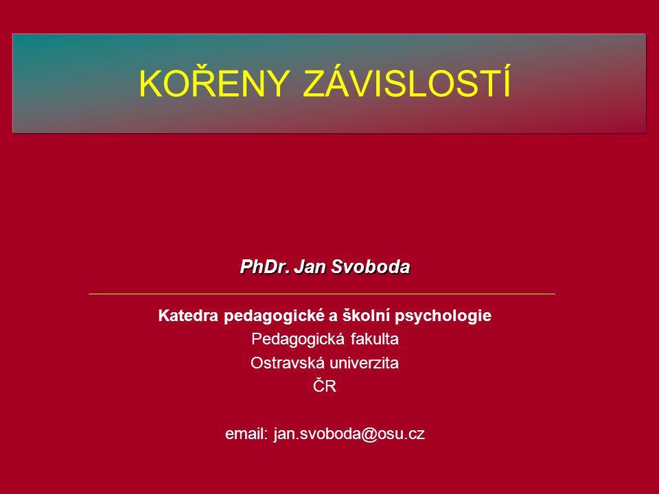 Katedra pedagogické a školní psychologie