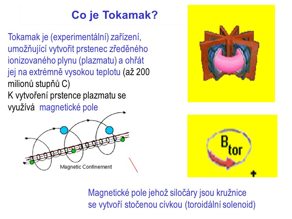 Co je Tokamak