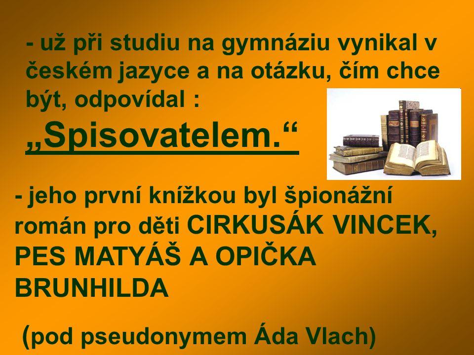 (pod pseudonymem Áda Vlach)