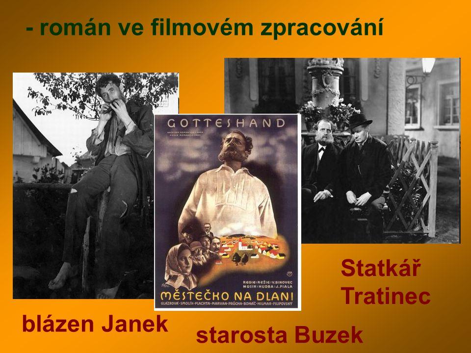 - román ve filmovém zpracování