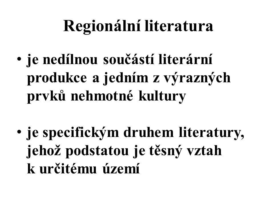 Regionální literatura
