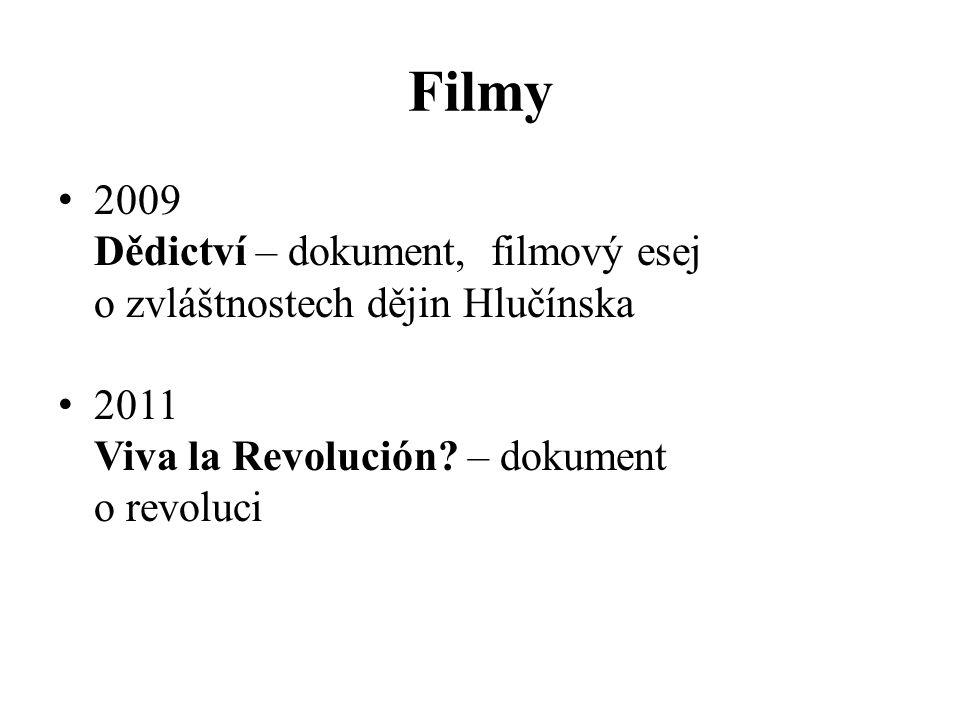 Filmy 2009 Dědictví – dokument, filmový esej