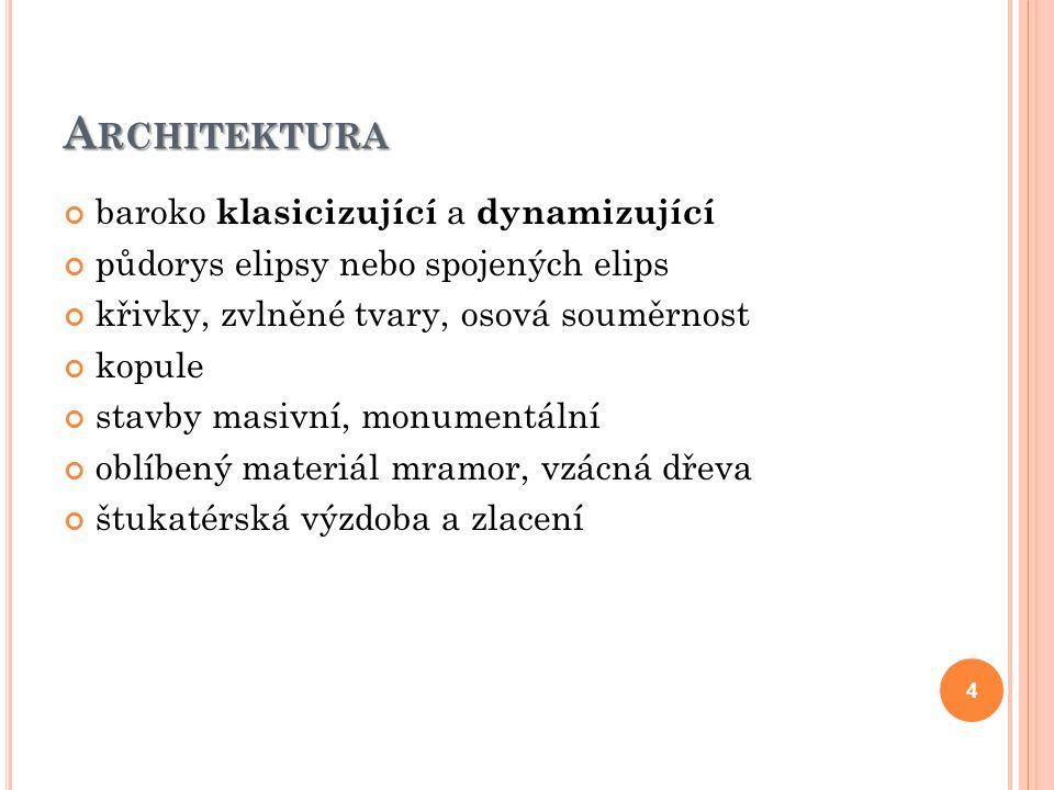 Architektura baroko klasicizující a dynamizující