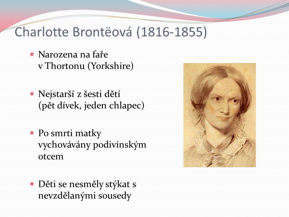 Charlotte Brontëová (1816-1855)