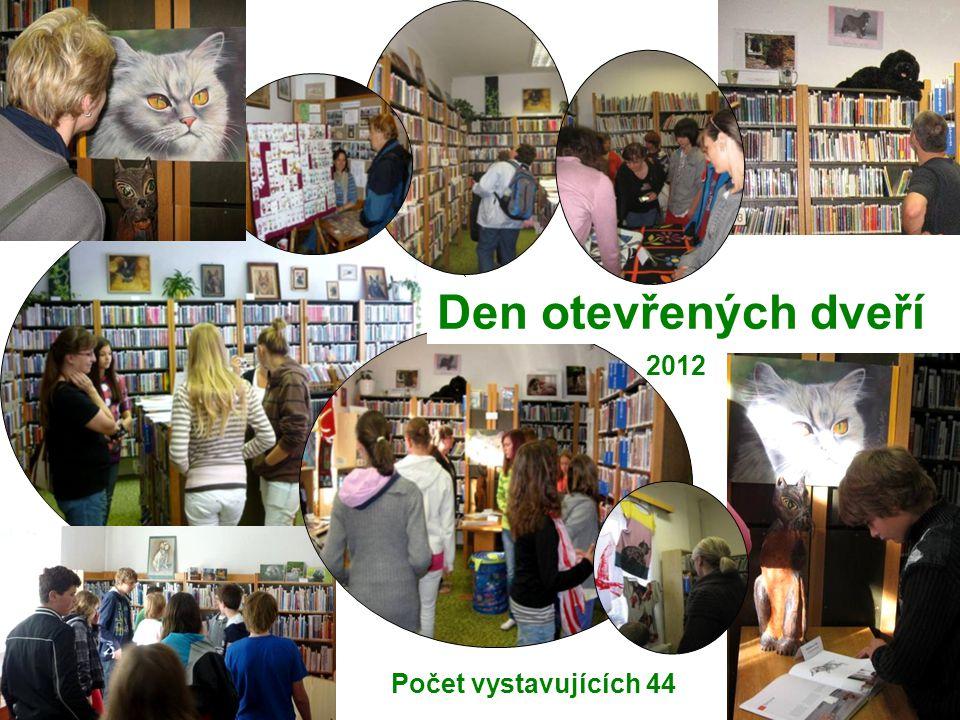 Den otevřených dveří 2012 Počet vystavujících 44