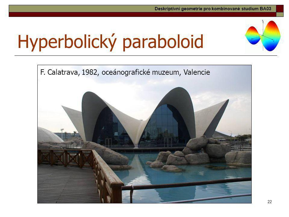 Hyperbolický paraboloid