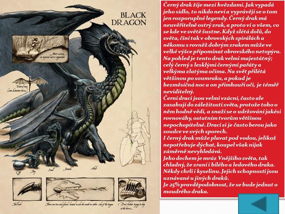 Černý drak žije mezi hvězdami
