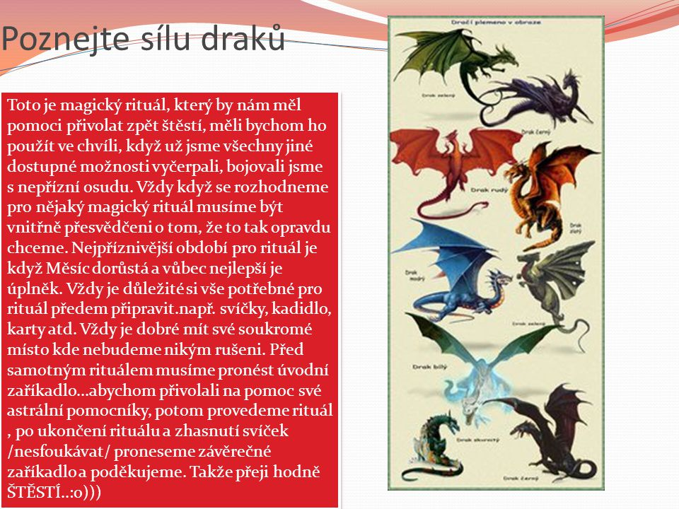 Poznejte sílu draků