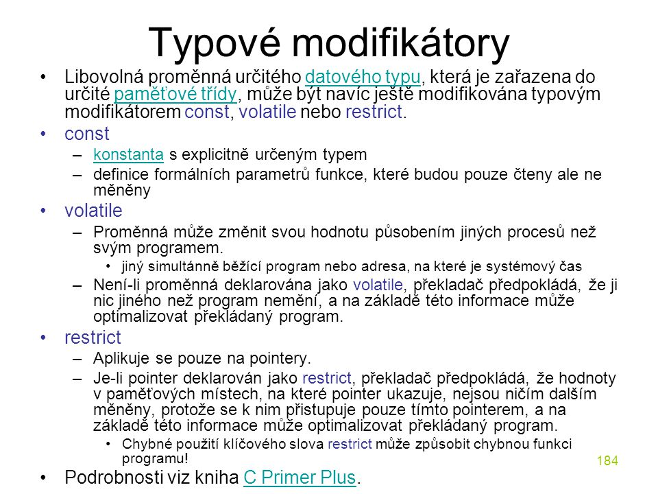 Typové modifikátory