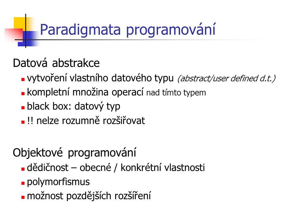 Paradigmata programování