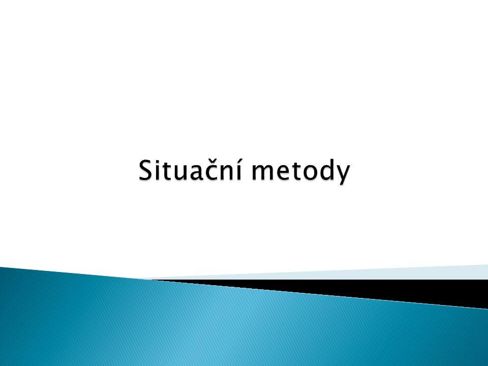 Situační metody
