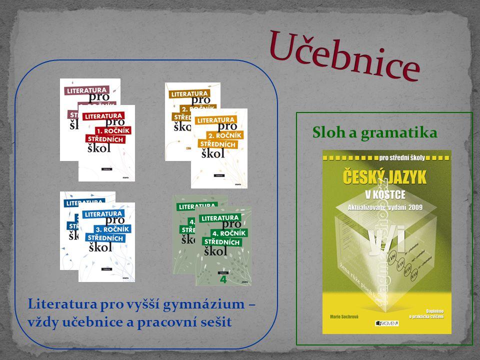 Učebnice Sloh a gramatika