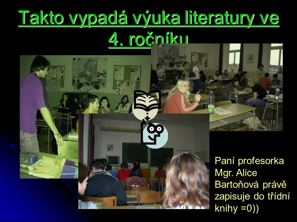 Takto vypadá výuka literatury ve 4. ročníku