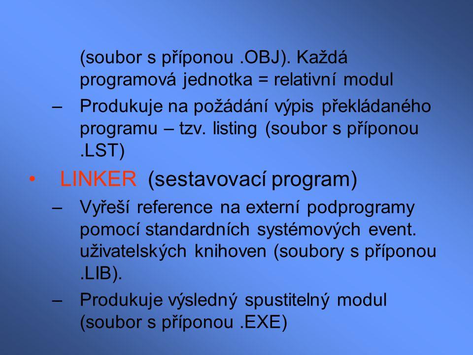 LINKER (sestavovací program)