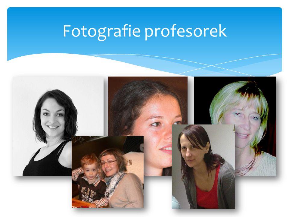 Fotografie profesorek
