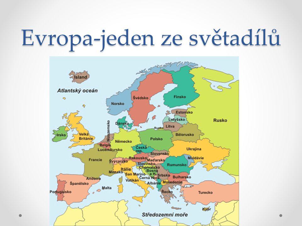 Evropa-jeden ze světadílů