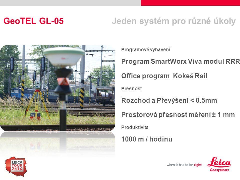 GeoTEL GL-05 Jeden systém pro různé úkoly
