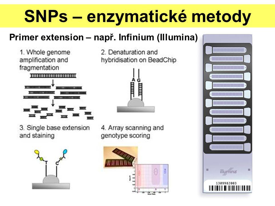 SNPs – enzymatické metody