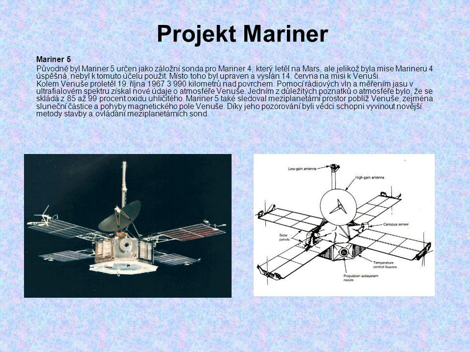 Projekt Mariner Mariner 5
