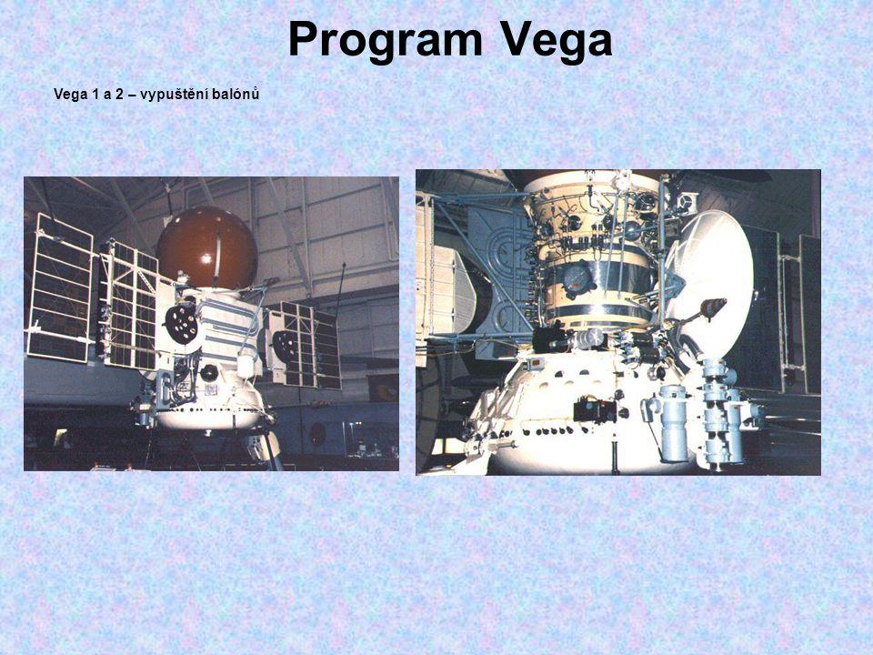 Program Vega Vega 1 a 2 – vypuštění balónů