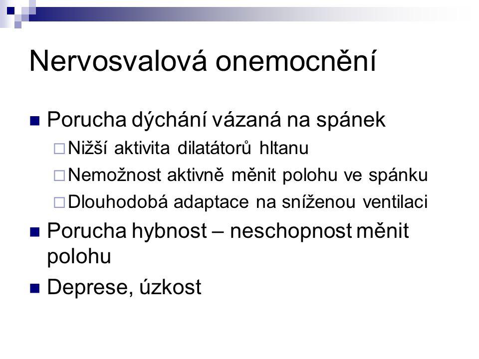 Nervosvalová onemocnění