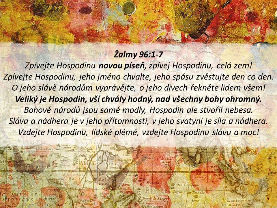 Žalmy 96:1-7