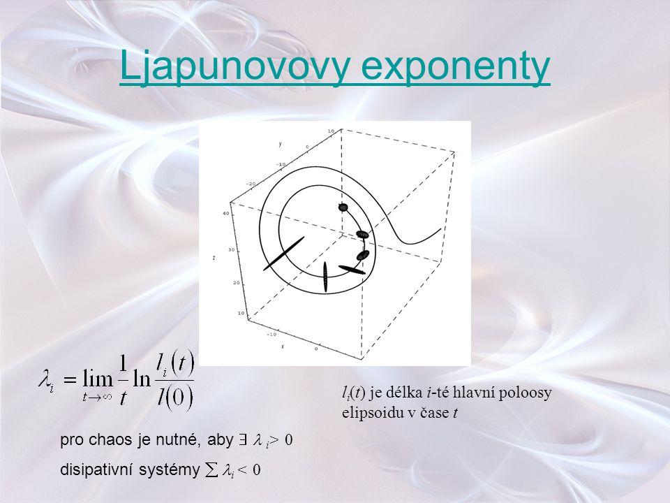 Ljapunovovy exponenty