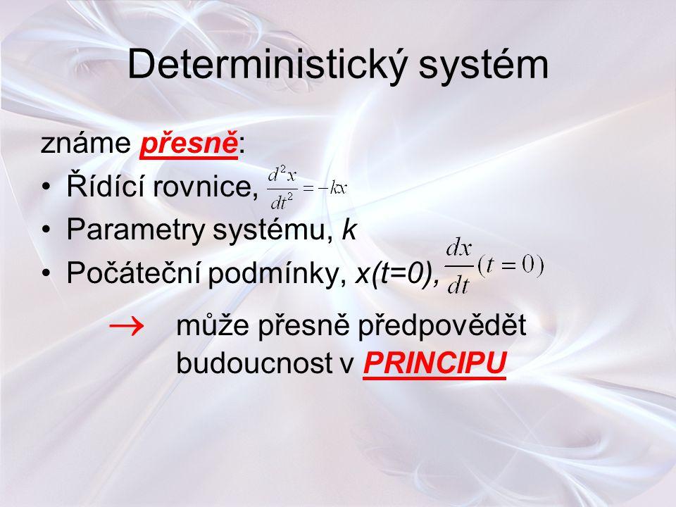 Deterministický systém