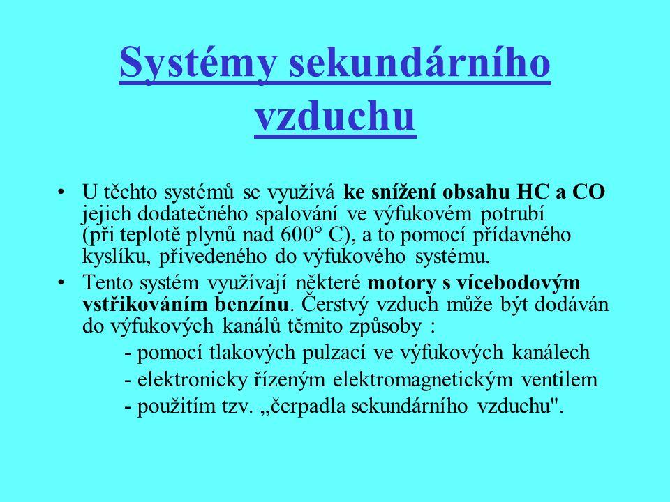 Systémy sekundárního vzduchu