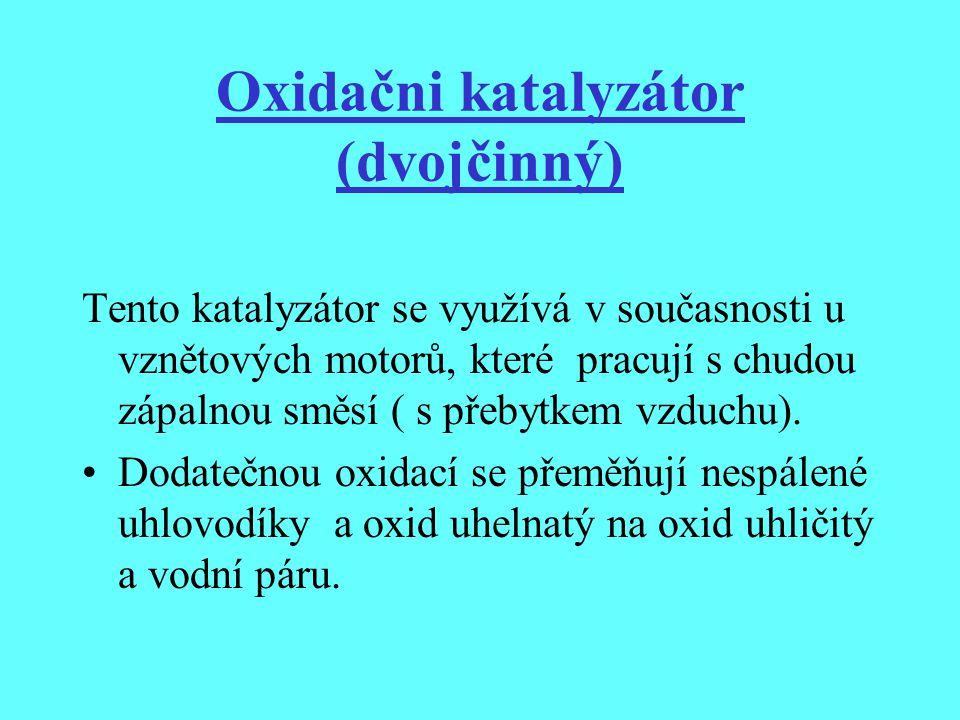 Oxidačni katalyzátor (dvojčinný)