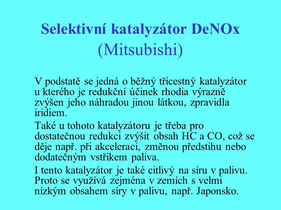 Selektivní katalyzátor DeNOx (Mitsubishi)