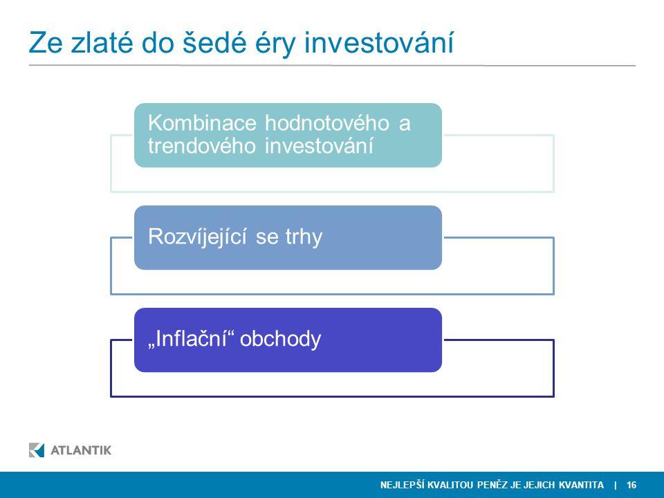 Ze zlaté do šedé éry investování