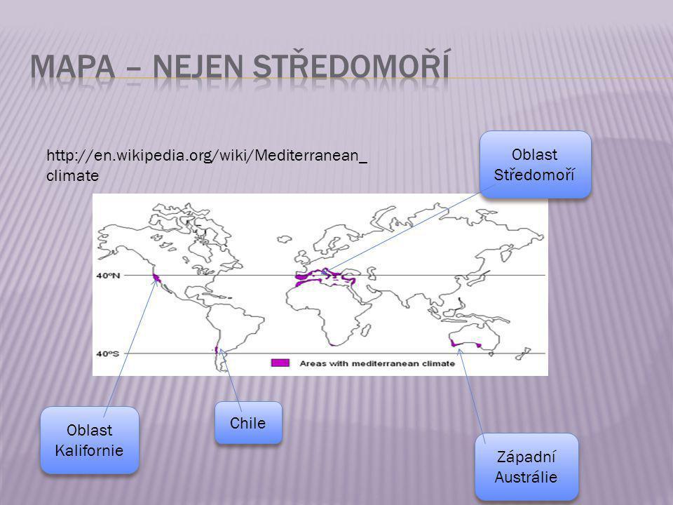 MAPA – nejen středomoří