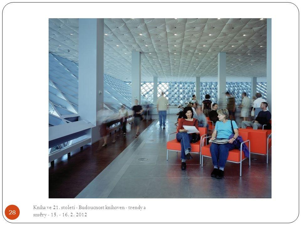 Kniha ve 21. století - Budoucnost knihoven - trendy a směry - 15. - 16