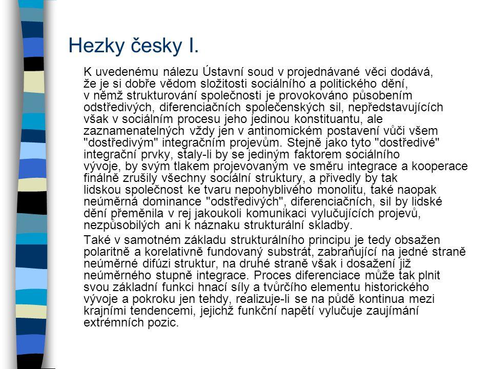 Hezky česky I.