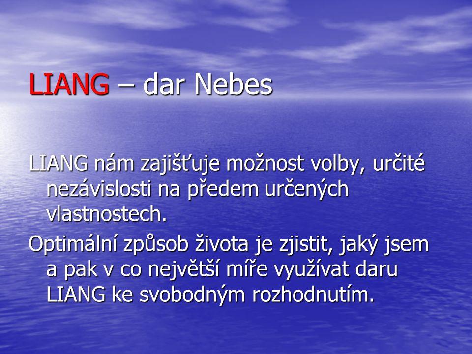 LIANG – dar Nebes