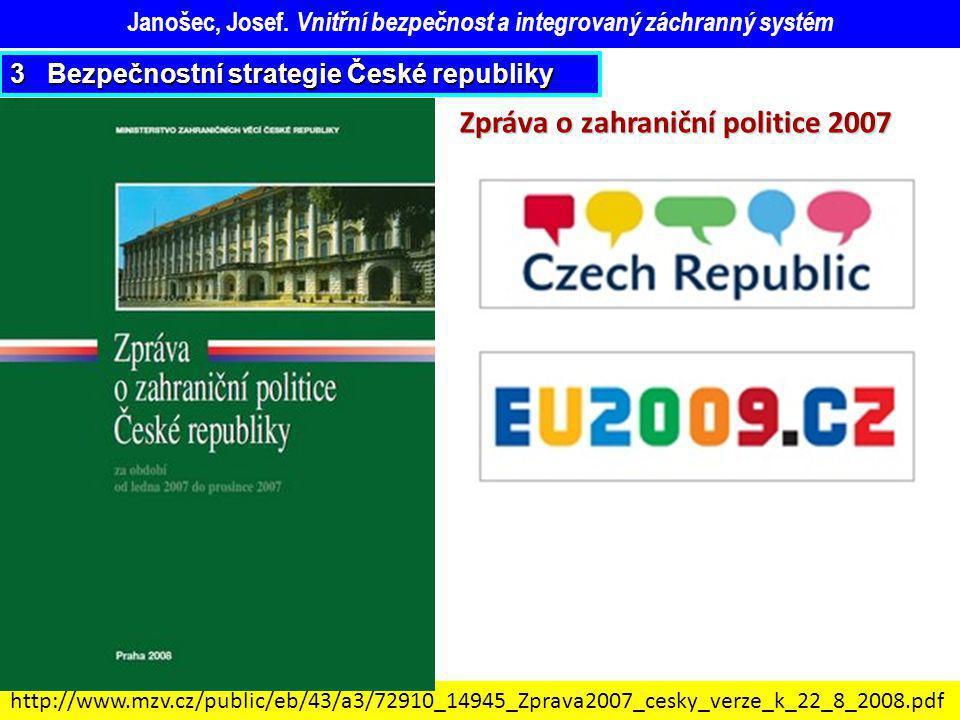 Zpráva o zahraniční politice 2007