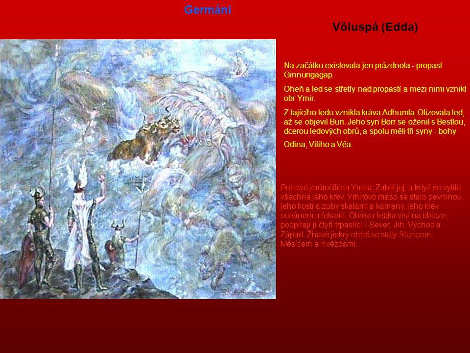 Germáni Völuspá (Edda)