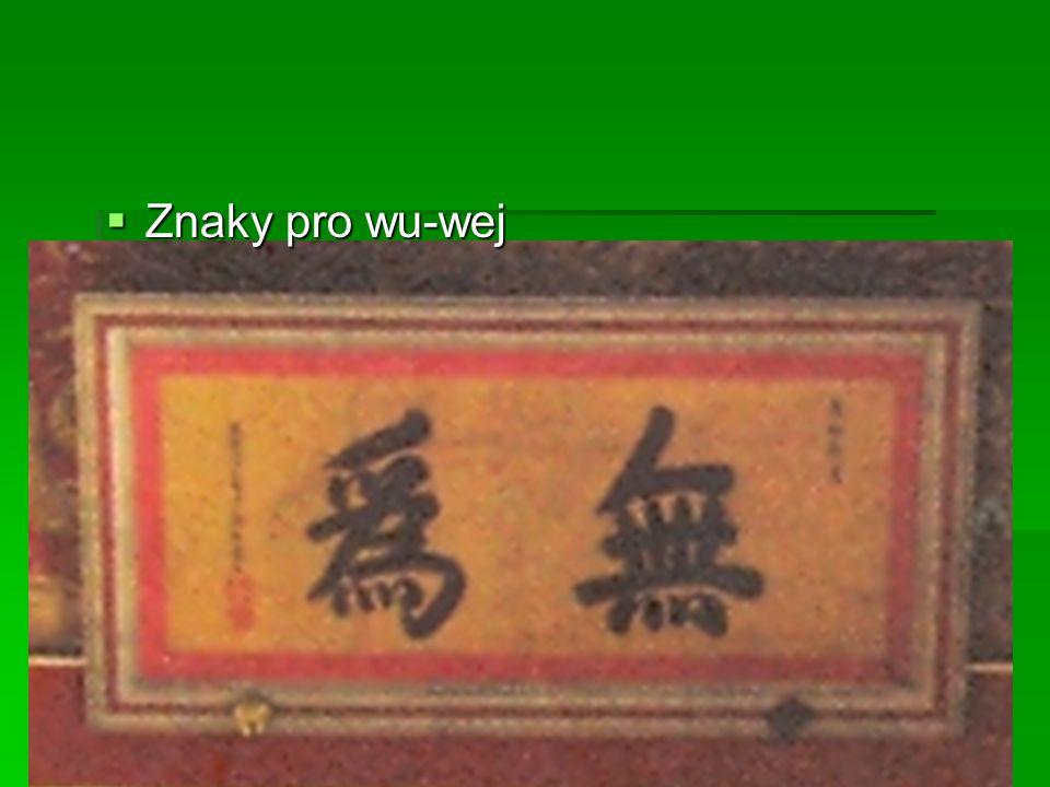Znaky pro wu-wej